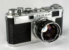 Nikon S-2, #6181755, Nikkor S-C 1.4/5, #369474 - Second Version