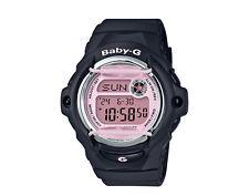 Casio G-Shock Baby-G BG169 Analog Resin Black/Pink Women's Watch BG169M-1