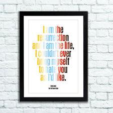 Stone Roses Poster soy la resurrección-disponible en 3 tamaños-listo para marco