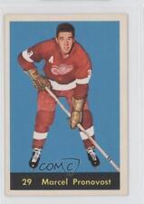 1960-61 Parkhurst #29 Marcel Pronovost Detroit Red Wings Hockey Card