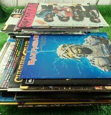 Concert Programmes Rock Pop Heavy Metal etc 1980's 1990's 2000's Lots to Choose!