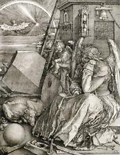 "ALBRECHT DURER ""Melancholia"" engraving CANVAS OR PAPER various sizes, NEW"