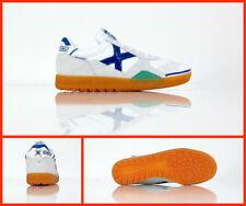 23ba78cdf MUNICH scarpe calcetto indoor GRESCA 01 3000604 col.BIANCO/AZZURRO luglio  2018