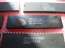 ci Z8441AB1 / Z 8441 AB1 / ic Z80ASIO-1  DIP40  Neuf de chez SGS