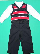 NWT Boys 3pc Suit [Shirt-Vest-Pants] Size 2T Kids ChildrensToddlersFormalOutfit