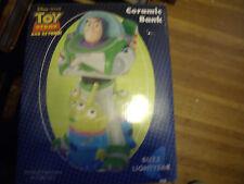 Disney's Toy Story Buzz Lightyear Ceramic Bank (New in Box)