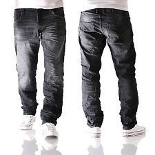 JACK & JONES Mike Iron comfort fit Herren Jeans Hose JOS 314 schwarz neu