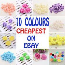 100  Mini Artificial Rose Flower Heads Foam Wedding Party Decor Wholesale 3cm