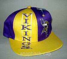 N.O.S vintage snapback CAP vikings old school 90's