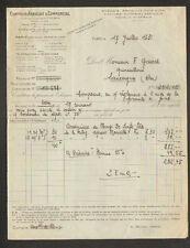 PARIS (IX° Arrt.) COMPTOIR AGRICOLE & COMMERCIAL / PRODUITS CHIMIQUES en 1931