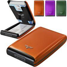 Tru Virtu Aluminio Funda para tarjetas de crédito TARJETERO EC RFID ESTUCHE