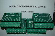 4 CNC Geckodrive G-210x's+Extras Stepper motor Driver Gecko Router Mill Plasma