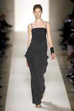 NWT £395 Designer VANESSA BRUNO Runway SILK Maxi Dress FR 40 Italian 44 UK 12
