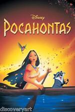 Disney's Pocahontas 1995 Movie Poster Multi-Size Canvas Wall Art Film Print