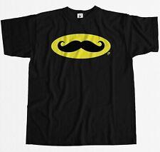 Bat Bigote Gracioso Geek Nerd Cool noviembre Para hombres Camiseta