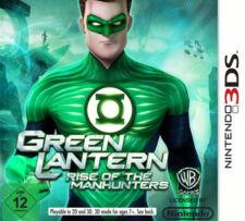 LANTERNA VERDE-Rise of the Manhunters-Nintendo 2ds/3ds-NUOVO