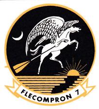 USN US NAVY TALLYHOERS VC-7 FIGHTING FLECOMPRON CREST LOGO CUSTOM MUG CUP STEIN