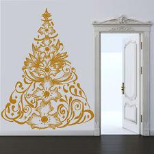 Sticker Mural Sapin de Noël Tradition - Choix taille et couleur