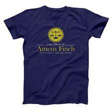 Atticus Finch Law Lawyer  To Kill A Mockingbird  Book Navy Men's T-Shirt