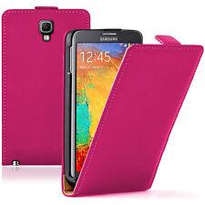 Etui Coque Housse PU Cuir Véritable Flip Cover pour Samsung Galaxy Note 3 Neo