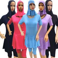Muslim Swimwear Lady Swimsuit Islamic Beachwear Arab Burkini Hijab Modesty Beach