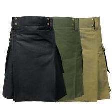 Tartanista - Herren Taktischer Cargo-Kilt mit Taschen - ideal für Einsätze