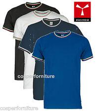 T-shirt uomo manica corta girocollo cotone maglia Italia tricolore Payper Flag