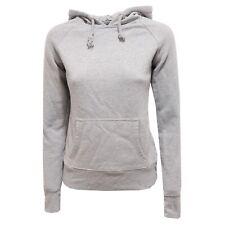 2613R felpa SCOUT grigio melange felpa cappuccio donna sweatshirt women