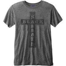 Black Sabbath Vintage Cross Burnout Official Merchandise T-Shirt M/L/XL - Neu