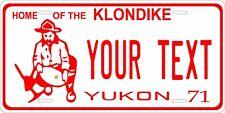 Yukon Canada 1971 License Plate Personalized Custom Car Bike Motorcycle Moped