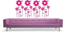 Las Flores Pegatinas De Pared Arte - - Calcomanías de Vinilo de arte