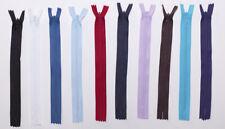 Invisible Concealed Zip ( Elige tu color y tamaño )