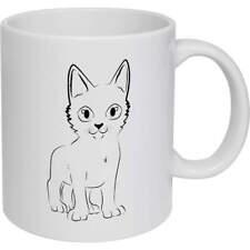 'Kitten' Ceramic Mug / Travel Cup  (MG004686)
