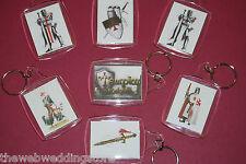 Masonic - Knights Templar  - Freemasonry - Wargaming - Templars - KEY RING -GIFT