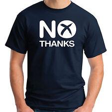 No, gracias T-SHIRT-Mejor juntos la independencia de Escocia escocés Algodón