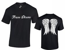 TEAM DIXON MENS T SHIRT COOL WALKING DARYL DESIGN DEAD RICK FAN GIFT IDEA S -5XL
