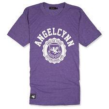 "SENLAK ""ANGELCYNN"" ENGLAND T-SHIRT - HEATHER PURPLE, Anglo-Saxon, Patriotic"
