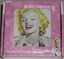 Marilyn Monroe Blonde Bombshell Table Bar Drink Coasters Gay Int Xmas Gift Rare