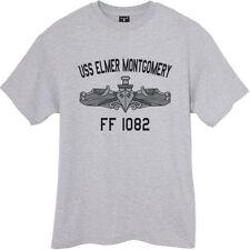 USN US Navy USS Elmer Montgomery FF-1082 T-Shirt