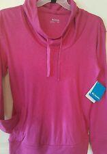Columbia Womens Jacket/Top Hoodie/Cow Neck Pedal Flats II Hoodie Sz M L XL Pink
