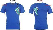 T SHIRT POLO MAGLIA UOMO MANICA CORTA Nike QTT Play TAGLIA S stampa grafica
