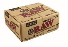 RAW Clásico OBRA MAESTRA Kit Tamaño King Papeles / rollos con Enrollado consejos