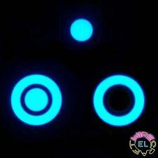 5 X EL Tape Bullseye! = £24.99 - 6cm EL Hoop + 3cm EL Button - any colour combo