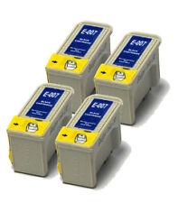 4x NERO COMPATIBILE (NON OEM) per sostituire le cartucce di inchiostro t007