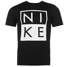 """Tee shirt NIKE noir modèle """"Box JDI"""" - Du S au XXL (Taille grand)"""