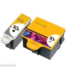 SERIE 10xl, 10 XL Negro & Cartuchos de tinta de color compatible con Kodak