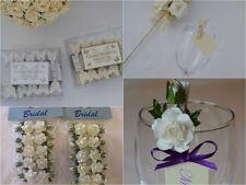 Jolie cœur en bois chevilles Fleurs Papillon Décoration de Table Mariage Cartes Place