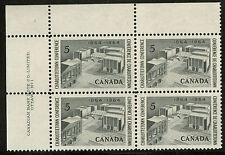 Canada   1964  Unitrade # 431  Mint Never Hinged Plate Block