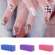 10x Nail Manicure Buffing Sanding Buffer Block Files Salon Art Polisher Tool New