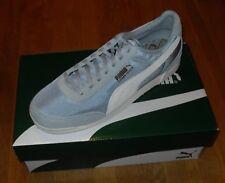 Mens PUMA Trimm Quick Coffee Waxed Nubuck Trainers Shoes UK